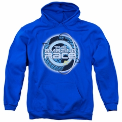 The Amazing Race Hoodie Around The World Royal Blue Sweatshirt Hoody