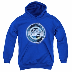 The Amazing Race Kids Hoodie Around The World Royal Blue Youth Hoody