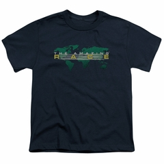 The Amazing Race Kids Shirt Around The World Navy Blue T-Shirt