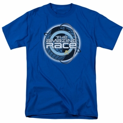 The Amazing Race Shirt Around The World Royal Blue T-Shirt