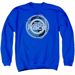 The Amazing Race Sweatshirt Around The World Adult Royal Blue Sweat Shirt