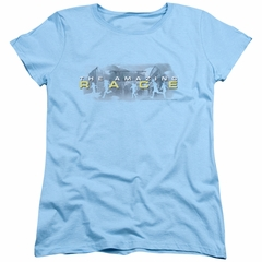 The Amazing Race Womens Shirt In The Clouds Light Blue T-Shirt