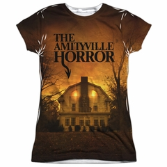 The Amityville Horror House Sublimation Juniors Shirt