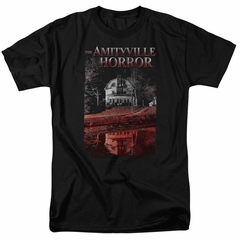 The Amityville Horror Shirt Cold Red Black Tee T-Shirt