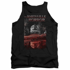 The Amityville Horror Tank Top Cold Red Black Tanktop