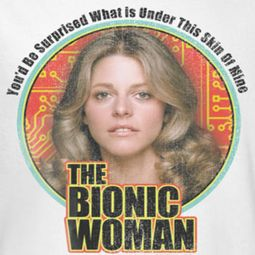 The Bionic Woman Under My Skin Shirts