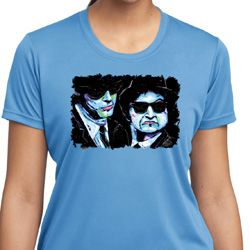 The Blues Brothers Profiles Ladies Moisture Wicking Shirt