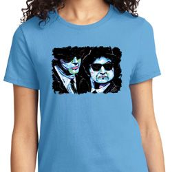 The Blues Brothers Profiles Ladies Shirt