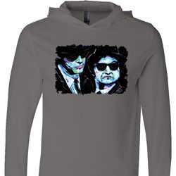 The Blues Brothers Profiles Lightweight Hoodie Tee