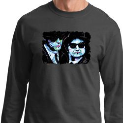 The Blues Brothers Profiles Mens Long Sleeve Shirt