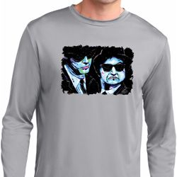 The Blues Brothers Profiles Mens Moisture Wicking Long Sleeve Shirt