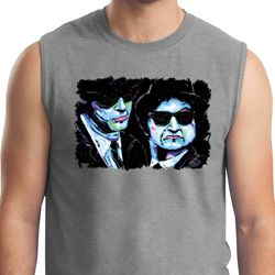 The Blues Brothers Profiles Mens Muscle Shirt