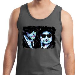 The Blues Brothers Profiles Mens Tank Top
