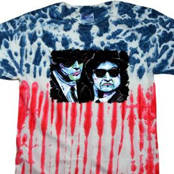 The Blues Brothers Profiles Patriotic Tie Dye Shirt