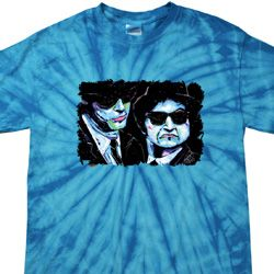 The Blues Brothers Profiles Spider Tie Dye Shirt