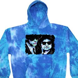 The Blues Brothers Profiles Tie Dye Hoody