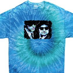 The Blues Brothers Profiles Tie Dye Shirt