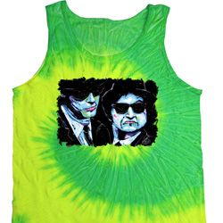 The Blues Brothers Profiles Tie Dye Tank Top