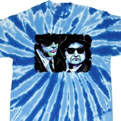The Blues Brothers Profiles Twist Tie Dye Shirt