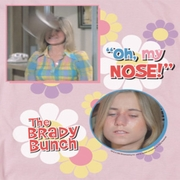 The Brady Bunch Marcia Oh My Nose Shirts