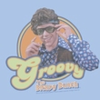 The Brady Bunch TV Groovy Greg Juniors Light Blue Tee