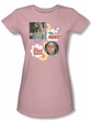 The Brady Bunch TV Oh, My Nose! Juniors Pink T-Shirt