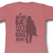 The Breakfast Club Juniors Shirt Be Bad Red Heather Tee T-Shirt