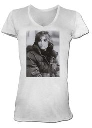 The Breakfast Club Juniors T-Shirt BFC Alison White V Neck Tee Shirt