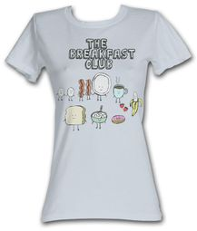 The Breakfast Club Juniors T-Shirt BFC Breakfast Silver Tee Shirt