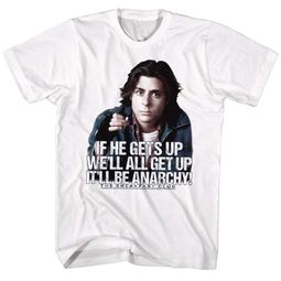 The Breakfast Club Shirt Anarchy White T-Shirt