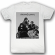 The Breakfast Club Shirt Laid Out Adult White Tee T-Shirt