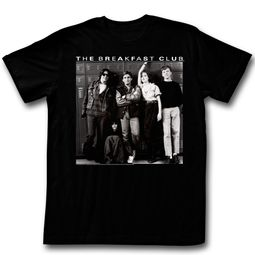 The Breakfast Club Shirt Locker Pose Black T-Shirt