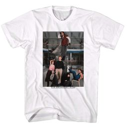The Breakfast Club Shirt Lounging White T-Shirt