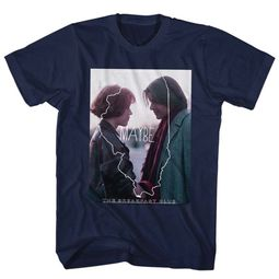 The Breakfast Club Shirt Maybe Navy T-Shirt
