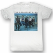 The Breakfast Club Shirt Posted Up Adult White Tee T-Shirt
