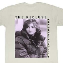 The Breakfast Club Shirt The Goth Adult Dirty White Tee T-Shirt
