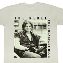 The Breakfast Club Shirt The Punk Adult Dirty White Tee T-Shirt
