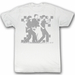 The Breakfast Club Shirt Waddle Adult White Tee T-Shirt
