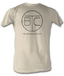 The Breakfast Club T-Shirt BFC Circle Logo Dirty White Tee Shirt