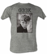 The Breakfast Club T-Shirt BFC Geek Adult Gray Heather Tee Shirt