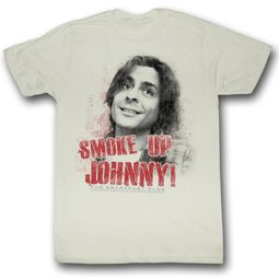 The Breakfast Club T-Shirt Movie Smoke Up Johnny Adult Natural Shirt