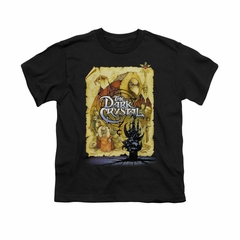 The Dark Crystal Shirt Poster Kids Black Youth Tee T-Shirt