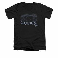 The Dark Crystal Shirt The Garthim Slim Fit V Neck Black Tee T-Shirt