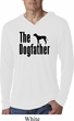 The Dog Father Black Print Lightweight Hoodie Shirt