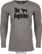 The Dog Father Black Print Long Sleeve Thermal Shirt