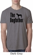 The Dog Father Black Print Mens Burnout Shirt