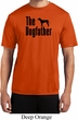 The Dog Father Black Print Mens Moisture Wicking Shirt