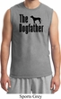 The Dog Father Black Print Mens Muscle Shirt