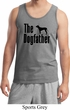 The Dog Father Black Print Mens Tank Top