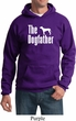 The Dog Father White Print Hoodie
